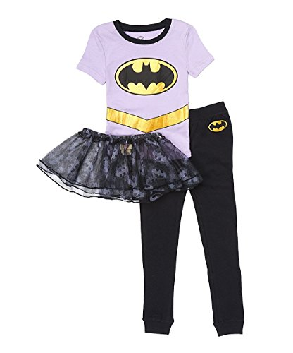 DC Comics Baby Girls Batgirl 'Gold Logo Ballet