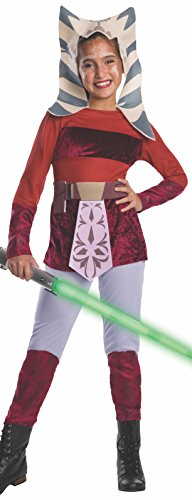 Ahsoka Tano Costume Child (Star Wars Clone Wars Child's Ahsoka Costume, Medium)