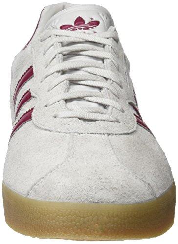 Adidas Mannen Gazelle Super Loopschoenen, Blauw-grijs (grijze / Mystery Ruby / Gold Metallic)