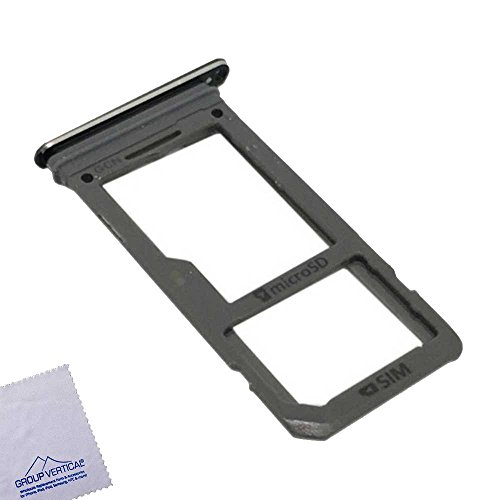 2 Pack – SIM Card Tray for Samsung Galaxy S8 – Black
