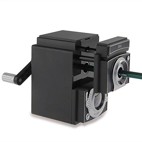 Shallen Camera Design Pencil Sharpener Sharpening Rotary Hand Crank Desktop Student