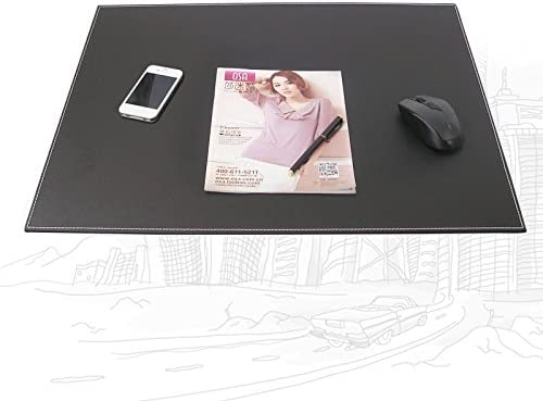KINGFOM 18x14 Large Rectangle A3 Desk Writing /& Drawing Board Writing Pad Tablet with Paper Clip Black