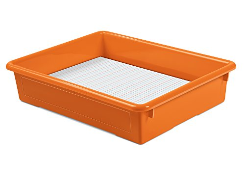Lakeshore Heavy-Duty Paper Tray - Orange