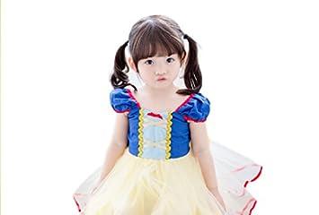 04bf58c4b10c1  ハピクリ 白雪姫 ドレス 子供用 キッズコスチューム プリンセス ハロウィン ...