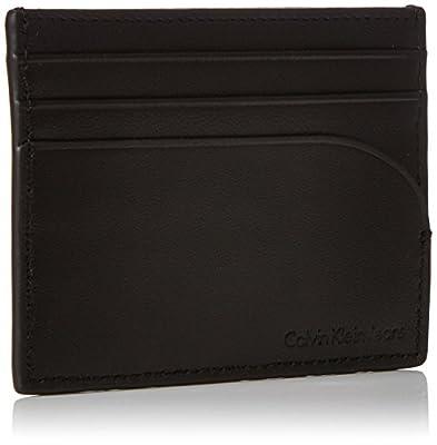 Calvin Klein Ckj Logo Pop Cardholder, Unisex Adults' Wallet, Black (Black/black), 1x8x10 cm (B x H T)