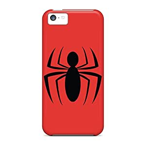 Cases Covers Spiderman Logo/ Fashionable Cases For Iphone 5c