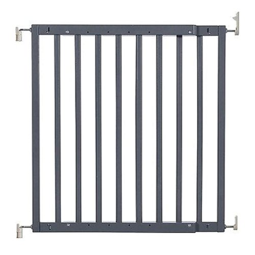 Primetime Petz Safety Mate Expandable Pet and Baby Gate, Sturdy Wall Mountable Safety Gate for Hallways, Stairs, or Outdoor Use, Fits Openings from 24.5