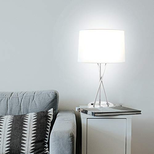 Paradis Brushed Nickel Lamp with Outlet and USB Port (Set of 2) by Paradis (Image #3)