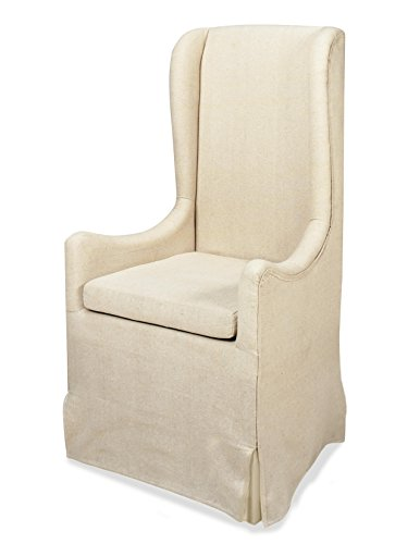 Progressive Furniture A406-40 Sienna Skirted Wing Chair, 26