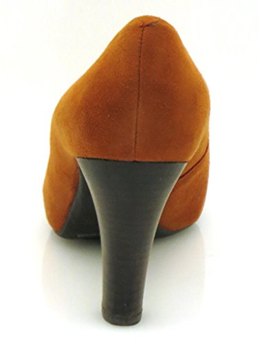 Suede Shoes Ladies Unisa Copper Shoes Women's Court Pumps SYdwna1q