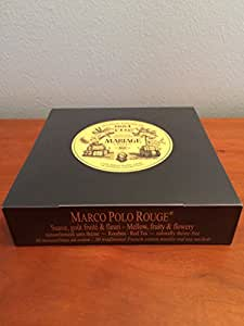 Mariage Frères - MARCO POLO ROUGE® - Box of 30 traditional french muslin tea sachets