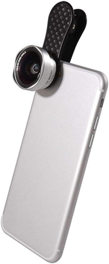 TONGTONG 2 en 1 teléfono cámara Lente Kit Lente Gran Angular y 15x ...