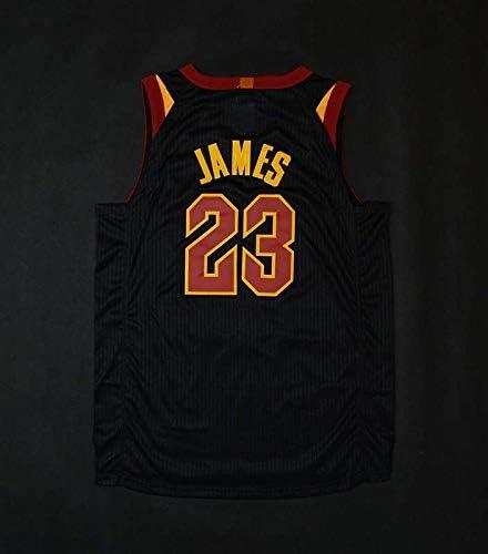 Cleveland Cavaliers #23 Abbigliamento Sportivo Swingman Ricamata canottejerseyNBA Lebron James Basket Jersey Maglia Canotta