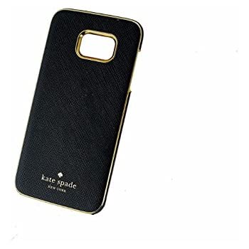 kate spade new york Wrap Case for Samsung Galaxy S7 edge - Saffiano Black