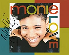 This listing is for a great 8x10 matte finish photo signed by rapper Monie Love . Monie Love is an Grammy-nominated English rapper, actress and radio personality from London, England. Best known for her singles during the late-1980s through t...
