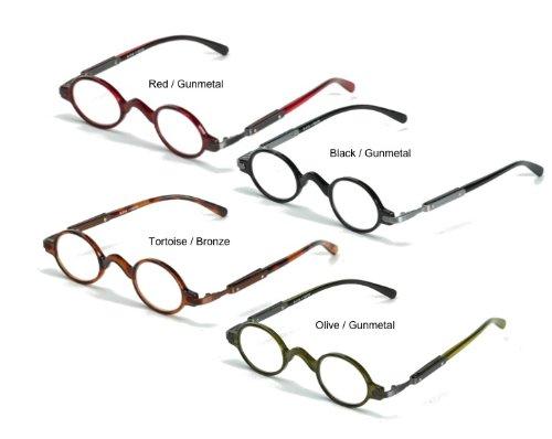 f8b929040e2 Hot Optix Unisex Retro Oval Plastic  Metal Reading Glasses - Buy Online in  UAE.