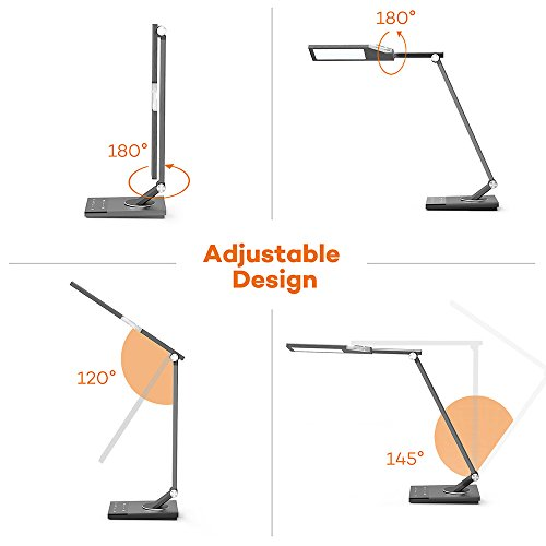 Led Desk Lamp Taotronics Stylish Metal Table Lamps