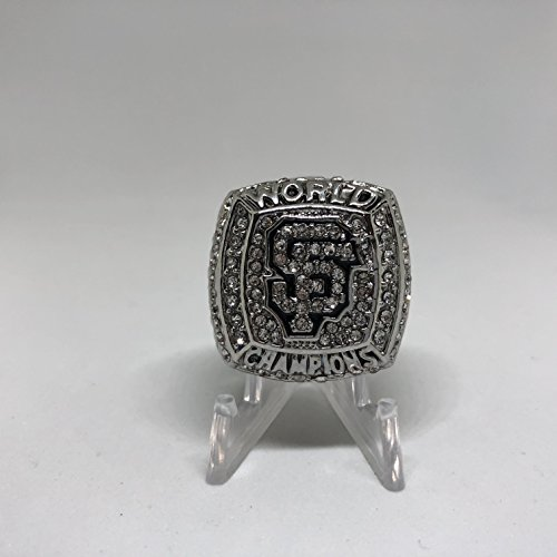 2012 Buster Posey #28 San Francisco Giants High Quality Replica 2012 World Series Ring Size 9-Silver