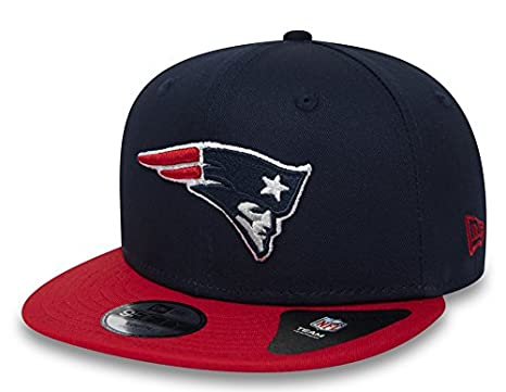 9e1522538bbf New Era Kids Essential 9Fifty Kinder Snapback New England Patriots Blau Rot,  Size Youth