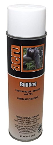Penetrating Gel Lubricant with PTFE, Bulldog, 13oz Can, Box of 3