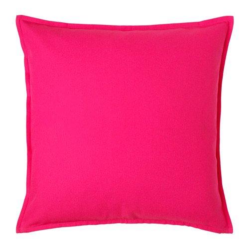 IKEA Gurli manta almohada cojín rosa brillante, 20 cm por 20 ...