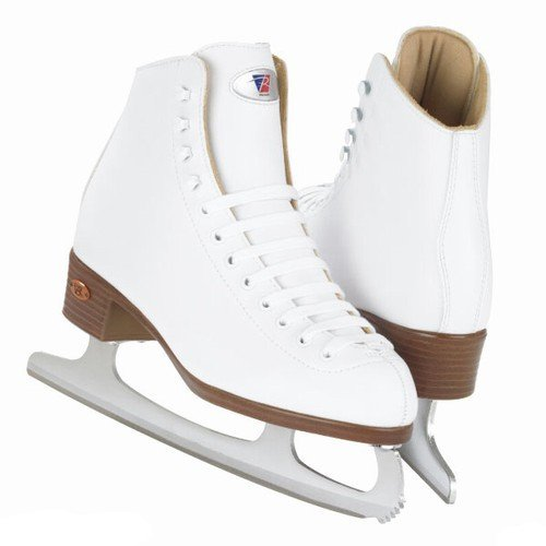 GR 4 ice blade Riedell White Ribbon 112 W Size 6