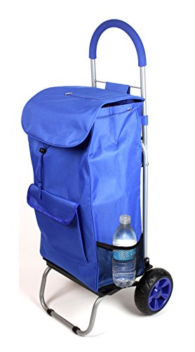 Trolley Dolly, Blue Shopping Grocery Foldable