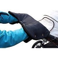ByBUM - Handwärmer, Muff mit Fleece Innenseite, Universalgröße für Kinderwagen, Buggy, Radanhänger