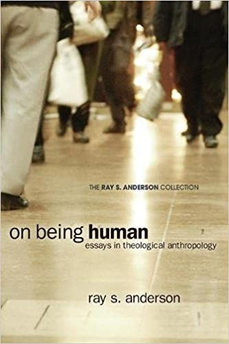 on being human essays in theological anthropology ray s  on being human essays in theological anthropology ray s anderson collection ray s anderson todd h speidell 9781608999743 com books