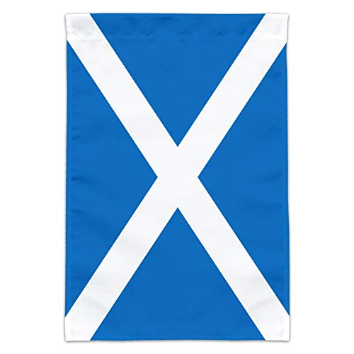 Graphics and More Scotland Scottish Country Flag Garden Yard Flag (Pole Not Included)
