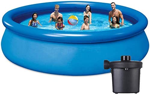 10ft Inflatable Pool Above Ground Pool Swimming...