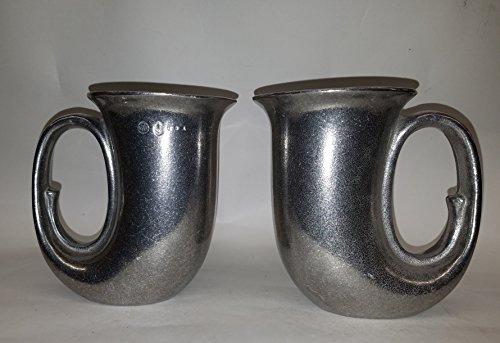 Wilton Armetale Countryware Horn Mug, Set of 2 ()