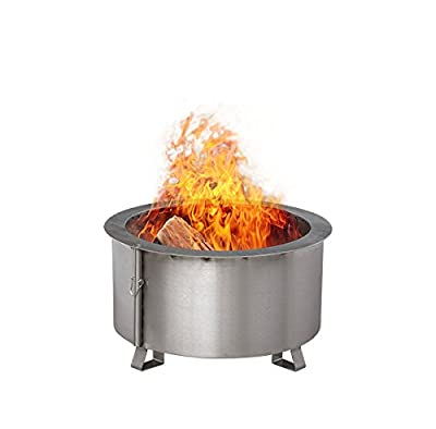 """Double Flame 24"""" Fire Pit 