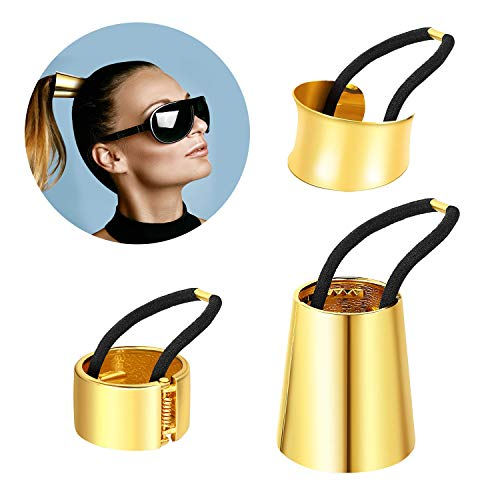 Ponytail Cuff Gold For Women Gir...