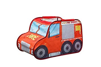 Kids Play Tent Make Believe Car Play Tent Fire Truck Mini Driver Play-house Indoor  sc 1 st  Amazon.com & Amazon.com: Kids Play Tent Make Believe Car Play Tent Fire Truck ...