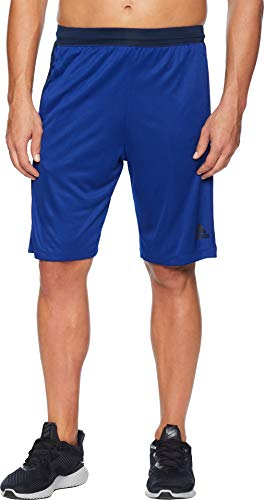 adidas Training Designed-2-Move 3 Stripes Short, Mystery Ink/Collegiate Navy, Large