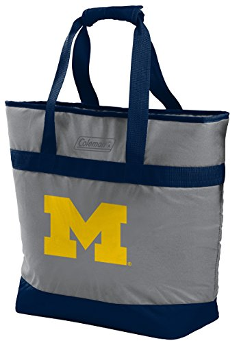 Rawlings NCAA Michigan Wolverines Unisex 07883083111NCAA 30 Can Tote Cooler (All Team Options), Blue, X-Large