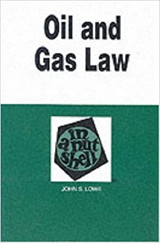 Counting Number worksheets gas law worksheets : Oil and Gas Law in a Nutshell (Nutshell Series): John S. Lowe ...