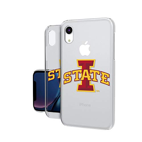 Keyscaper NCAA Iowa State Cyclones Unisex Apple iPhone Clear CaseClear Case, Clear, iPhone XR