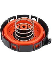 KIMISS Tapa de escape del motor del coche PCV Válvula de ventilación positiva del cárter para 14506018001