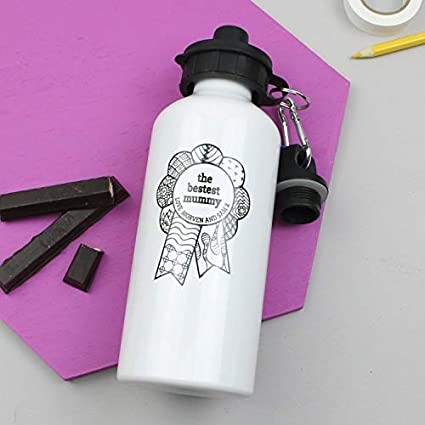 83797ecb84 Image Unavailable. Image not available for. Color: WENNUNA Water Bottle  Bestest Mum Custom ...
