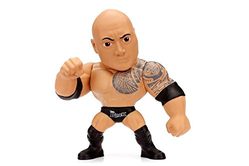 """Metals WWE Classic 4"""" The Rock  Toy Figure"""