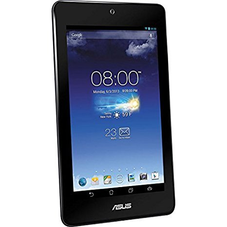 ASUS MeMO Pad HD ME173X-A1 7-Inch 16GB Quad-Core Processor Android Tablet - Blue (Certified Refurbished)