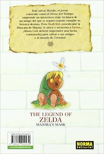 The Legend of Zelda 03. MajoraŽs Mask (CÓMIC MANGA): Amazon.es ...