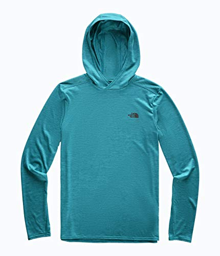 The North Face Men's Hyperlayer Hoodie, Crystal Teal Heather, Size L