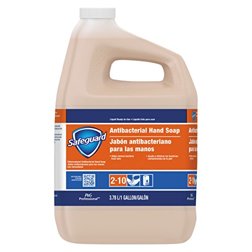 Hand Washing Antibacterial Soap - Safeguard 02699 Antibacterial Liquid Hand Soap, 1 Gallon (Case of 2)