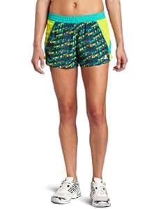 adidas Women's Royalty Short Scatter, Hyper Green, Small