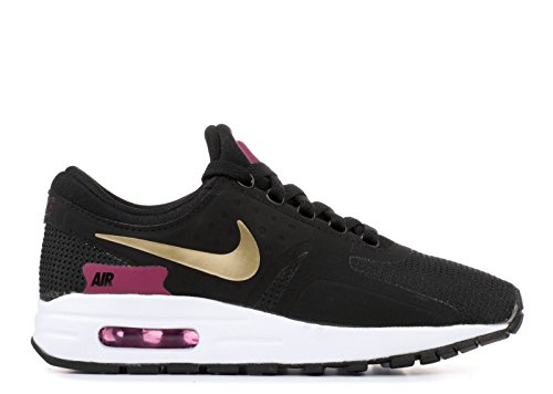 Nike Kids Air Max Nul Essentieel Gs, Zwart / Metallic Goud-wit Zwart, Metallic Goud-wit