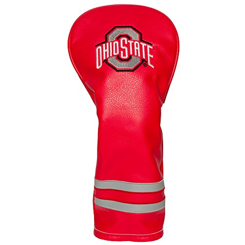 Team Golf NCAA Ohio State Buckeyes Vintage Fairway Golf Club Headcover, Form Fitting Design, Retro Design & Superb Embroidery (Best Vintage Golf Clubs)