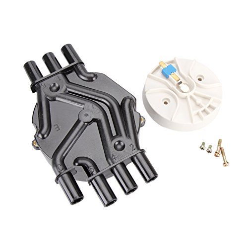 Distributor Cap Rotor Set - Dromedary OEM For Rotor D465 10452457 and Distributor Cap 10452458 D328A 4.3L Kit Set